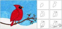 32 ausmalbilder kostenlos – Kardinal Vogel – vol 921 | Fashion