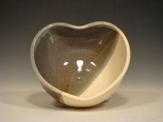 Ceramic Heart Bowl on Etsy ($20)