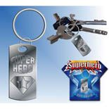 Super hero keychains!