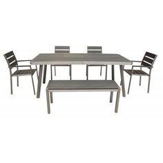 Polylumber 6-piece Santorini Dining Set