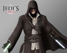 These Jack Jasra Star Wars Assassin's Creed Mash-Ups Kick Butt trendhunter.com