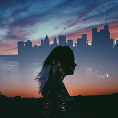 Awesome Silhouette Photography by Emilya Costa Silouette Photography, Photoshop Photography, Creative Photography, Shadow Photography, Framing Photography, Exposure Photography, Multiple Exposure, Double Exposure, Silhouette Fotografie