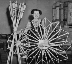 Firework factory worker