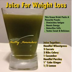 Juicing for weight loss, energy boosting, detox, juice fast! green drink, amazing tasting juice