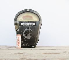 Industrial Urban Decor Metal Parking Meter Great Guy Gift! by Modred12, $ 115.00