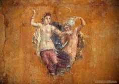 Fresco from Temple of Isis by !STORAX, via Flickr