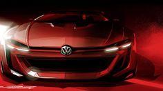 Un nouveau concept aux allures agressives ? Oui, c'est la #Volkswagen GTI Roadster Vision Gran Turismo ! Une voiture de course conçue pour #Wörthersee et pour le jeu vidéo #GranTurismo 6, attention les yeux !