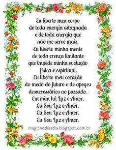 Magia no Dia a Dia: Recarregando Suas Energias http://magianodiaadia.blogspot.com.br/2016/10/recarregando-suas-energias.html