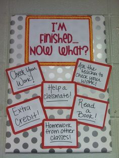 "Empty Walls? ""Bulletin Board"" ideas/improvisations for your classroom. by thebigbiglemon"