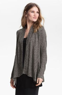 Eileen Fisher Shaped Cardigan (Petite) available at Nordstrom