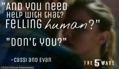 *feeling but felling. Sorry lol The 5th Wave ♥