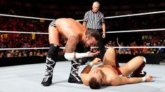 You can't see ... CM Punk? Watch the WWE Champion do his best John Cena imitation on Raw!