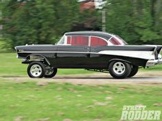 Street Rodder, 57 Chevy