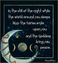 Sleep blessing celtic moonway internet originals and witches in the still of the night fandeluxe Images