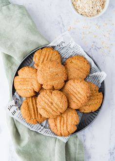 Lemon ginger oatmeal cookies Laura s Bakery Foods With Gluten, Oatmeal Cookies, I Love Food, Food To Make, Almond, Bakery, Gluten Free, Desserts, Recipes