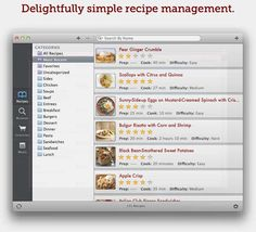 Top 100 Products 2012  Paprika mobile recipe managing app