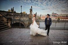 Prague pre-wedding photography - Overseas pre-wedding photo shoot