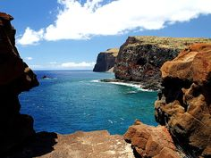 Top 10 Islands in the U.S. : Condé Nast Traveler : Lanai, Hawaii - Gorgeous view from Lanai's sea cliffs! #iHeartLanai #Hawaii