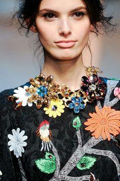 Dolce & Gabbana Details A/W  2014. MFW