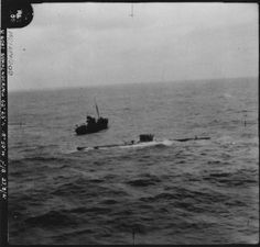 The destroyers HMS Burwell and HMCS Niagra and the ASW trawlers HMT Wastwate, Windermere, Kingston Agathe, and Northern Chief participated in removing the German Crew of U-570 and towing the vessel to Iceland.