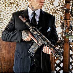 @whiskey.rebel.actual fancy as fuck with the #ApocalypsePistol  www.darkalliancefirearms.com