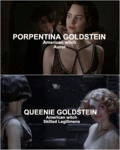 Porpetina and Queenie Goldstein | FBAWTFT