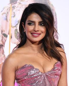 Priyanka Chopra Party in a Sequin Pink Gown That Plunged Low To Make the Most Her Sensational Cleavage Attending the Premiere of Warner Bros. Pictures' 'Isn't It Romantic' At the Theatre At Ace Hotel LA, Autumn Winter South Indian Actress Photo, Indian Actress Hot Pics, Bollywood Actress Hot Photos, Bollywood Girls, Beautiful Bollywood Actress, Most Beautiful Indian Actress, Bollywood Celebrities, Beautiful Actresses, Indian Actresses
