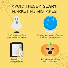 Avoid these 4 Marketing Mistakes ! Facebook Marketing, Content Marketing, Online Marketing, Digital Marketing Quotes, Digital Marketing Services, Digital Strategy, Marketing Automation, Marketing Consultant, Business Branding