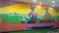 Mural Acidum no North Shopping Fortaleza