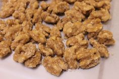 Salted candied walnuts