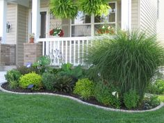 easy landscaping ideas for front of house | Yard and Exterior ...