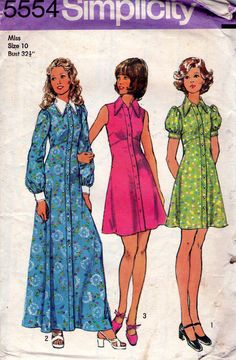 1970s Vintage sewing pattern  Simplicity by allthepreciousthings, $7.50