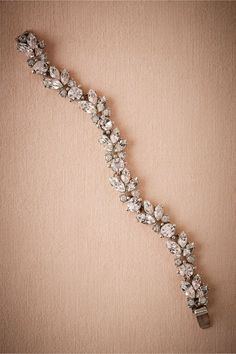9a38ba743d BHLDN Nerea Crystal Bracelet in Shoes & Accessories View All Accessories |  BHLDN Wedding Ties,