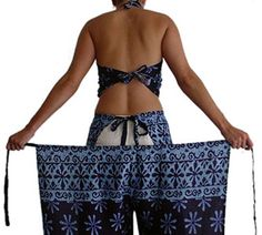 Sarong Wrap Pants - so is this like chaps, but for the beach??  So confused...I think I'll stick with a skirt...