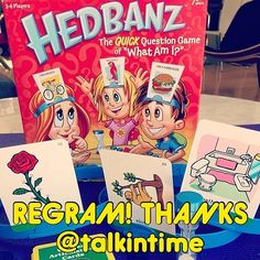 "Thank you, @talkintime for the idea.  I know so many SLPs who love this game!! Why not use ""Hedbanz""by Spin Master Games for artic practice?! Simply place articulation cards into the designated headband slots and encourage kiddos to guess their target words. This exercise will have your little ones working on: turn taking, expressive/receptive language, appropriate social exchanges, and critical thinking skills- all while facilitating correct production of targeted phonemes.  #slpeeps ..."