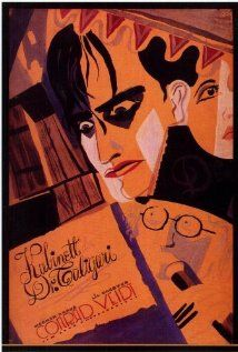 The Cabinet of Dr. Caligari (1920) Dr. Caligari's somnambulist, Cesare, and his deadly predictions.  Director: Robert Wiene Writers: Carl Mayer (story), Hans Janowitz (story)