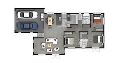 Flaxmere - Plan Arrow Keys, Close Image, Garden Planning, Building A House, House Plans, Floor Plans, Gardens, House Design, How To Plan