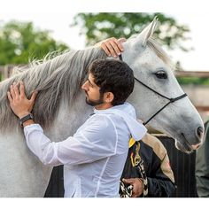 """Hamdan MRM: """"A horse will never say a word to you, but that shouldn't stop you from talking to them <3"""" - faz3, 07/06/2014"""