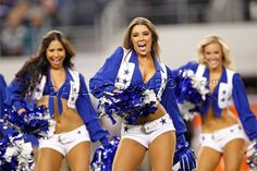 My first dream was to be a Dallas Cowboys cheerleader!