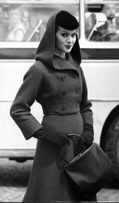 Hooded suit, 1956 wow love it!