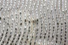 B Fabrics   Novelty Sequins on Silk Chiffon
