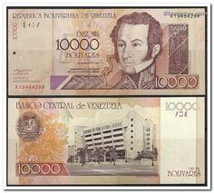 Billete de Bs.10000