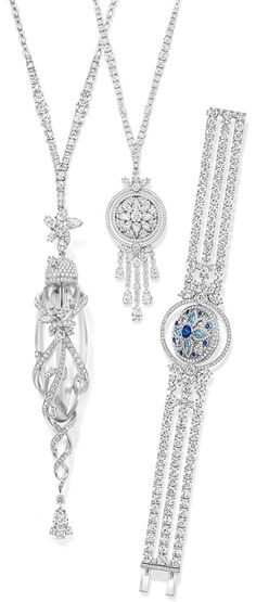 "Harry Winston Unveiled New Collection ""Secrets by Harry Winston"" collection in Paris"