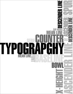 30 Examples Of Typography In Poster Design This pin looks professional with a black color, and I like the way there is a prominent word and side words. It gives a sense that the page is filled with something other than the main word Creative Typography, Modern Typography, Typography Fonts, Graphic Design Typography, Lettering, Web Design, Home Design, Fritz Kola, Typographie Inspiration