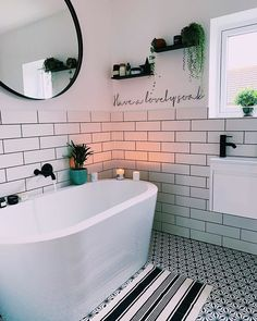 Modern Bathroom Inspiration // We are TrouvaThe Perfect Scandinavian Style Home Bathroom Red, Bathroom Layout, Modern Bathroom, Bathroom Design Small, Bathroom Interior Design, Scandinavian Style Home, Beautiful Bathrooms, Apartment Design, Bathroom Inspiration
