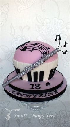 giant musical cupcake
