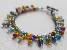 DIY Bead Dangle Bracelet Video and Written Tutorial