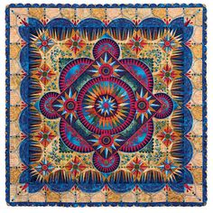 ARANDANO by Marilyn Badger. Janome America Best of Show.  2016 AQS QuiltWeek (Paducah)