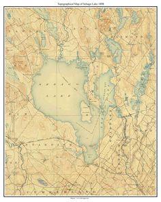 Sebago Lake 1898