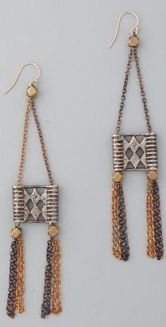 Akha earrings